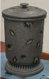 Black leaf pattern filter chiller