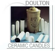 Doulton water filters-Sterasyl ceramic candle mount elements