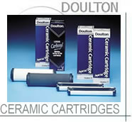 Doulton water purifier cartridges