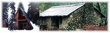 Water purifiers for cabins/huts with indoor plumbing