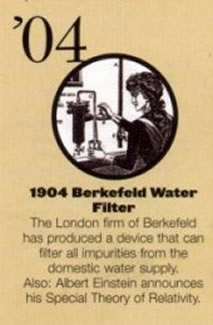 British Berkefeld Water Filter-Stuff 1904