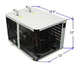 Bottleless water chiller