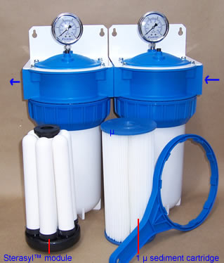 6 ceramic elements module water filter RIO-2000