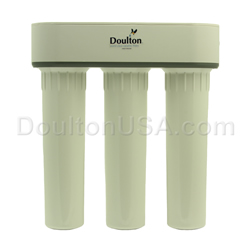 Doulton water filter for chlorine chloromine